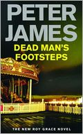 Dead Man's Footsteps by Peter James: NOOK Book Cover