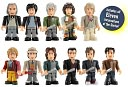 Doctor Who Character Building The Eleven Doctors Micro Figure Set by Underground Toys LLC: Product Image