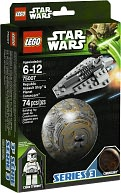 LEGO Star Wars Republic Assault Ship & Coruscant 75007 by LEGO: Product Image