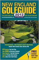 New England GolfGuide 2013 by Ball Marker Press LLC: Book Cover