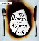 The Dinner by Herman Koch: CD Audiobook Cover