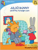 Julio Bunny and the Foreign Lion by Nicoletta Costa: NOOK Kids Read to Me Cover