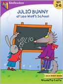 Julio Bunny at Leo Wolf's School by Nicoletta Costa: NOOK Kids Read to Me Cover