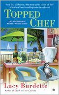 Topped Chef by Lucy Burdette: Book Cover