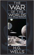 The War of the Worlds and Other Novels (Barnes & Noble Leatherbound Classics) by H. G. Wells: Book Cover