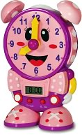 Telly the Teaching Time Clock - Pink by The Learning Journey International LLC: Product Image