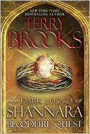 Bloodfire Quest by Terry Brooks: Book Cover