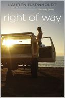 Right of Way by Lauren Barnholdt: Book Cover