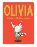 Olivia Helps with Christmas by Ian Falconer: Book Cover