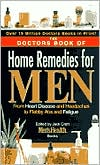 The Doctors' Book of Home Remedies for Men by Prevention Magazine Editors: Book Cover