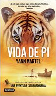 Vida de Pi by Yann Martel: Book Cover
