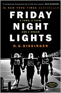 Friday Night Lights by H.G. Bissinger: Book Cover
