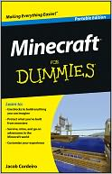 Minecraft For Dummies, Portable Edition by Cordeiro: Book Cover