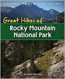 Great Hikes of Rocky Mountain National Park by Dave Marriner: Book Cover