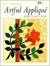 artful applique  the easy way by jane townswick  book cover