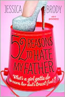 52 Reasons to Hate My Father by Jessica Brody: NOOK Book Cover