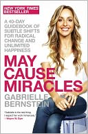 May Cause Miracles by Gabrielle Bernstein: Book Cover
