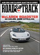 Road & Track - One Year Subscription: Magazine Cover