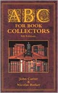 ABC for Book Collectors by John Carter: Book Cover