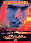 Days of Thunder with Tom Cruise