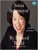 My Beloved World by Sonia Sotomayor: Audio Book Cover