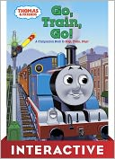 Go, Train, Go! (Thomas the Tank Engine and Friends Series) by Rev. W. Awdry: NOOK Kids Read and Play Cover