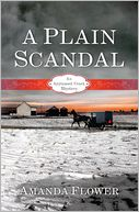 A Plain Scandal by Amanda Flower: NOOK Book Cover