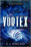 Vortex by S. J. Kincaid: Book Cover