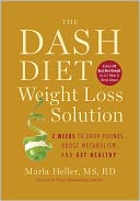 The Dash Diet Weight Loss Solution by Marla Heller: NOOK Book Cover