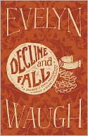 Decline and Fall by Evelyn Waugh: NOOK Book Cover