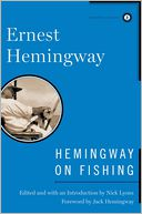 Hemingway on Fishing by Ernest Hemingway: Book Cover