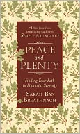 Peace and Plenty by Sarah Ban Breathnach: NOOK Book Cover