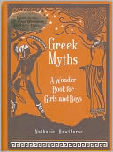 Greek Myths by Nathaniel Hawthorne: Book Cover
