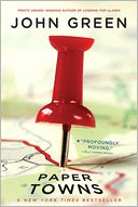 Paper Towns by John Green: Book Cover