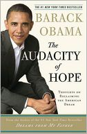 The Audacity of Hope by Barack Obama: Book Cover