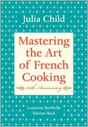 Mastering the Art of French Cooking, Volume 1 by Julia Child: Book Cover