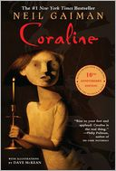 Coraline by Neil Gaiman: Book Cover
