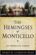The Hemingses of Monticello by Annette Gordon-Reed: Book Cover