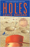 Holes by Louis Sachar: Book Cover