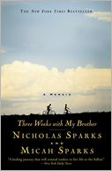 Three Weeks with My Brother by Nicholas Sparks: Book Cover