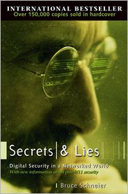 Secrets and Lies by Bruce Schneier: Book Cover