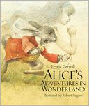 Alice's Adventures in Wonderland by Lewis Carroll: Book Cover