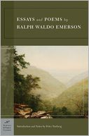 Essays and Poems by Ralph Waldo Emerson (Barnes & Noble Classics Series) by Ralph Waldo Emerson: Book Cover
