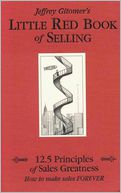 Little Red Book of Selling by Jeffrey Gitomer: Book Cover