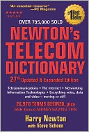 Newton's Telecom Dictionary by Harry Newton: Book Cover