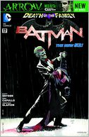 Batman #17 (2011- ) (NOOK Comics with Zoom View) by Scott Snyder: NOOK Book Cover