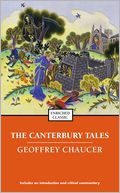 Canterbury Tales by Geoffrey Chaucer: NOOK Book Cover