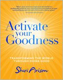 Activate Your Goodness by Shari Arison: Book Cover