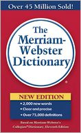 The Merriam-Webster Dictionary by Merriam-Webster, Inc.: Book Cover