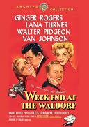 Weekend at the Waldorf with Ginger Rogers
